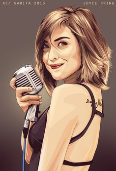 The Joyce Joyce Pring, Love You So Much, Fan Girl, Happiness, Passion, Illustrations, Digital, Artist, People