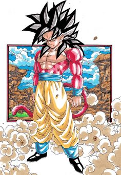 Dragon Ball Gt, Dragon Ball Image, Beetle Drawing, Dope Cartoon Art, Akira, Cultura Pop, Goku Super, Super Saiyan, Animation