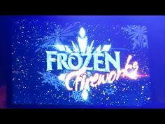 Frozen Summer Fun Fireworks at Disney's Hollywood Studios