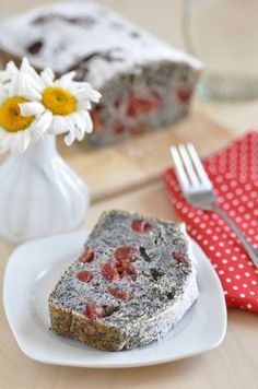 Czech Recipes, Baked Goods, Sweet Recipes, Banana Bread, Sweets, Cheese, Dishes, Baking, Cake