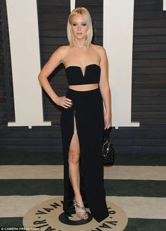 Admiration: Hudson revealed her dream costar would be fellow Oscar-winner Jennifer Lawrenc...
