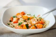 Buttered Up: Pasta with Squash and Brown Butter