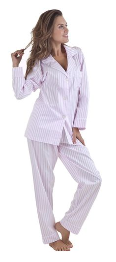 "New PJs!  The Pajama Company :: Bedhead :: Bedhead Women's ""Pink 3D"" Striped Cotton Sateen Pajama Set"