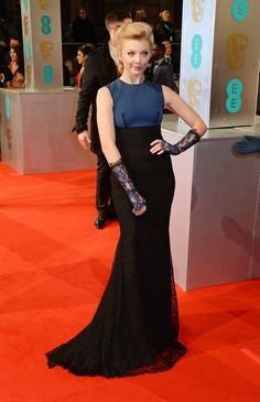 Pin for Later: Die Stars feiern bei den BAFTA Awards in London Natalie Dormer