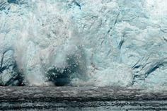 Holgate Glacier Calving - Kenai Fjords National Park