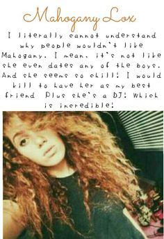 And even if she was dating one of the boys so what? She's pretty cool and I love her so much ☺ Magcon Family, Magcon Boys, Mahogany Lox, Bae, Can I Please, Kian Lawley, Jack And Jack, Guys And Girls, Pretty Cool