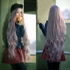 Women-Lady-Long-Curly-Wavy-Full-Hair-Cosplay-Party-Anime-Lolita-Wig-100CM