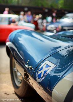 Clive Beecham's 1956 Ecurie Ecosse Long Nose Jaguar D-type XKD 603