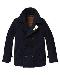 Basic woolen caban - Jackets - Scotch & Soda Online Shop