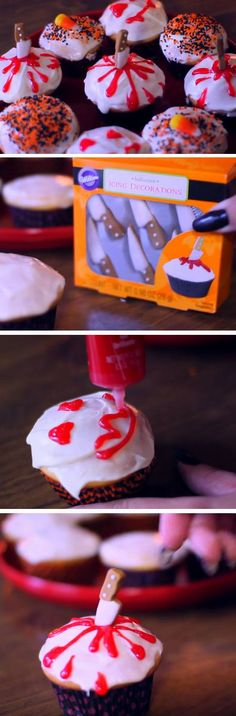 Murder Cupcakes | 19 DIY Halloween Party Ideas for Teens that are totally spooktacular!