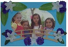 Girl Scout Bridging Frame Craft - for graders to make for & graders. Girl Scout Leader, Girl Scout Troop, Girl Scout Activities, Craft Activities, Girl Scout Levels, Photo Frame Crafts, Girl Scout Bridging, Gs Cookies, Scrapbook Frames