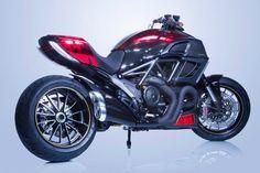 Customized Ducati Diavel