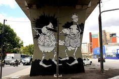 O MAAU (Museu Aberto de Arte Urbana) nasce para expor a aceitação do graffiti como uma arte que já faz parte da cidade. O projeto inédito, idealizado pelos artistas urbanos Chivitz e Binho, deu vida a uma verdadeira galeria de arte pública presente na Av. Cruzeiro do Sul, Zona Norte de São Paulo.    São 66 painéis criados por mais de 50 artistas. Vale a pena conferir de perto, enquanto isso, aprecie Onesto!