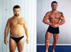 The 12 Best Male Weight & Fat Loss Transformation Pics! Inspiration!!