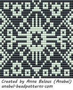 бисер бисероплетение схемы герданов кулоны