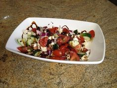 Greek Salad | Balsamic Nectar