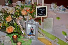 witzige Tischnamen - gesehen auf einer Hochzeitsfeier in Leipzig