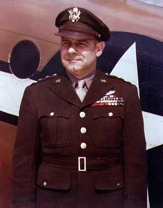 """General James Harold """"Jimmy"""" Doolittle, Ph.D., USAF. He was awarded the Medal of Honor for leading the first carrier-based bomber attack on mainland Japan in 1942."""