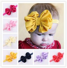 Girls' Baby Clothing Search For Flights Hair Accessories Lady Girl Cross Knot Elastic Hair Band Chiffon Flower Striped Women Turban Headbands Girl Headwear Mother & Kids