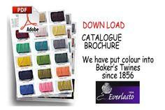 Beautiful Baker's Twine Solid - solid coloured bakers twine range Download Brochure