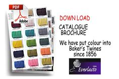 Beautiful Bakers Twines Largest range of Bakers craft twines - new website and downloadable catalogue see http://www.beautiful-bakers-twine.com