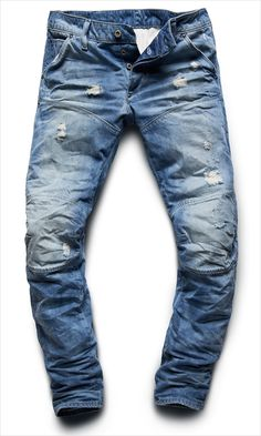 516e45fe70ff7 G-Star Elwood 5620 low tapered light aged washing. Rajesh Anireddy · Denim  at Heart