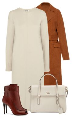 """Tory Burch Boots"" by bliznec ❤ liked on Polyvore featuring MSGM, Helmut Lang, Tory Burch and Kate Spade"