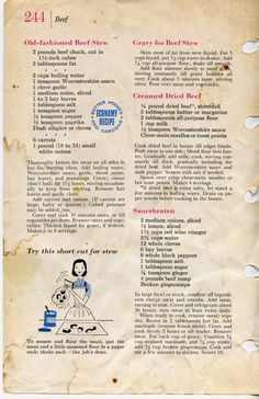1000 Images About Vintage Recipes On Pinterest Vintage Recipes Old Recipes And Better Homes