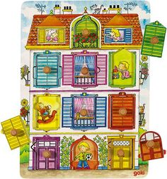 GK57598 Puzzles, Lego Duplo, Baby Play, Holiday Decor, Villa, Peek A Boos, Gross Motor, Wood Toys, Lace