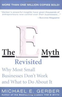 The E-Myth Revisited: Why Most Small Businesses Don't Work and What to Do About It by Michael E. Gerber, http://www.amazon.com/dp/0887307280/ref=cm_sw_r_pi_dp_NlaGqb02X60R7