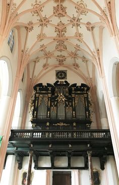 Inside Mondsee church where the wedding scene from The Sound of Music was filmed in Salzburg Sound Of Music Tour, Gothic Furniture, Wedding Scene, Salzburg, Tours, Travel, Destinations, Viajes, Traveling