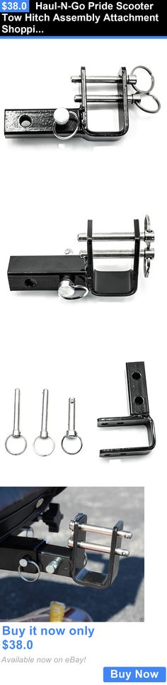 Mobility Scooters: Haul-N-Go Pride Scooter Tow Hitch Assembly Attachment Shopping Trailer Towing BUY IT NOW ONLY: $38.0