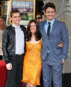 Pin for Later: What's Cuter Than Hot Guys With Their Moms? Dave Franco, James Franco, and Betsy Lou Franco