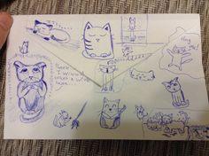 Drawings   #cutiecat13