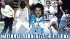 To those past & present that chose to compete wearing Carolina blue: Happy #NatlSADay.  We have some past fencers that were Student Athletes at UNC!  https://twitter.com/GoHeels/status/717773277872033792