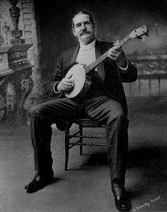 Polk Miller and His Old South Quartette. Also known as Pork Miller, nobody knows why. Vintage Pictures, Vintage Metal, Country Music, Musicals, Folk, Blues, Old Things, Banjos, Portraits