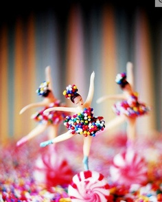 Awsome Candy Ballerinas