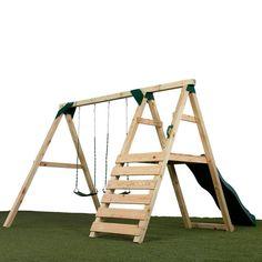 We build it ourselves d save a CRAPload - 28 Luxury Diy Swing Set Plans Inspiration Backyard Swing Sets, Diy Swing, Backyard For Kids, Backyard Projects, Diy For Kids, Swing Sets Diy, A Frame Swing Set, Swing Sets For Kids, Backyard Patio