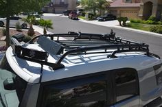 Pin By Piparch Chophimai On Cars Design Fj Cruiser Roof Rack Roof Light