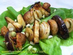 .. z lásky k vareniu ...: Grilované zeleninové špízy
