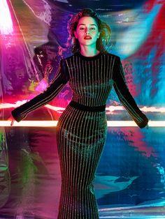 Emilia Clarke by Hunter & Gatti for GQ UK October 2015 - Balmain Fall 2015
