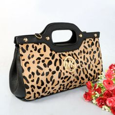 Michael Kors Large Berkley Cheetah-print Travel Clutch