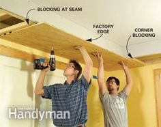 Add interest to a bedroom or kitchen by building a soffit with drywall, wood trim and rope lights. Hallway Lighting, Living Room Lighting, Bedroom Lighting, Light Fixtures Bedroom Ceiling, Modern Light Fixtures, Hidden Lighting, Ceiling Design, Ceiling Ideas, Wall Trim