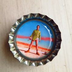 Walter White Bottle Cap Magnet (Breaking Bad) Bottle Cap Magnets, Walter White, Take My Money, Breaking Bad, Geek Stuff, Photo And Video, Shopping, Instagram, Geek Things