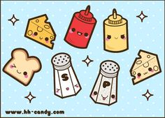 Delicious Condiments by A-Little-Kitty.deviantart.com on @deviantART