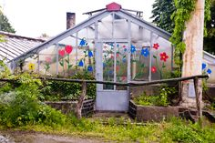 I feel in love with this greenhouse. It was so charming and Czech.
