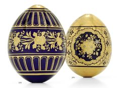Precious Russian porcelain Easter Eggs - easter-eggs Photo