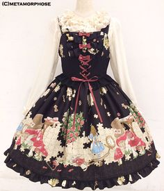 Lolibrary | Metamorphose Temps de Fille - JSK - Alice with the Lost Pieces Ribbon JSK
