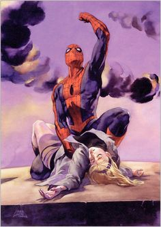 The Death of Gwen Stacy :'(