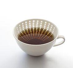 Block teacup ceramics tea / Blokki teekuppi keramiikka tee Jyväskylä Teeleidi myy Eeva Jokinen